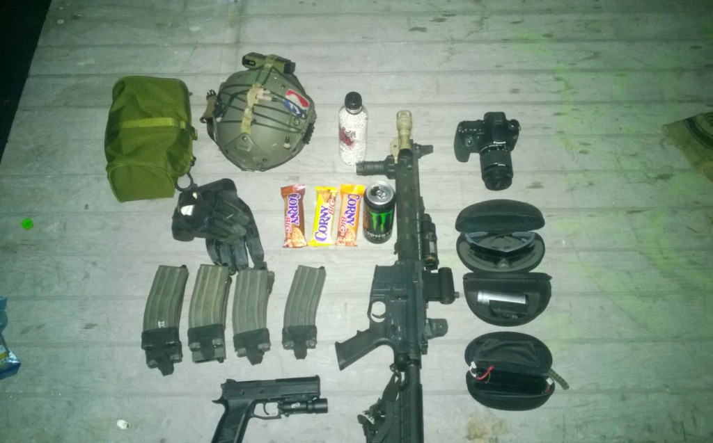 Loadout for Sunday gaming.
