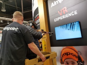 IWA 2017 - Aimpoint booth