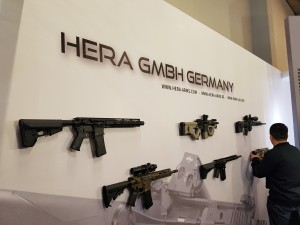 IWA 2017 - HERA Arms booth