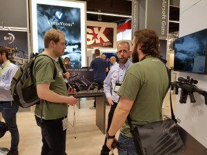 IWA 2017 - ASG booth Feat. Airsoft DB / Airsoft.nu